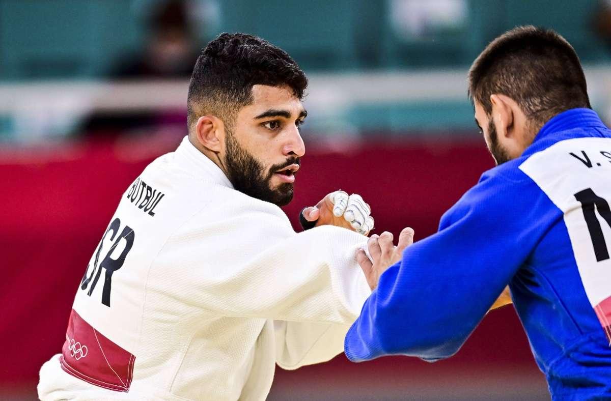 Zwei Judoka verzichteten auf ein Duell gegen den Israeli Tohar Butbul (links). Foto: imago images/PanoramiC/JB Autissier via www.imago-images.de