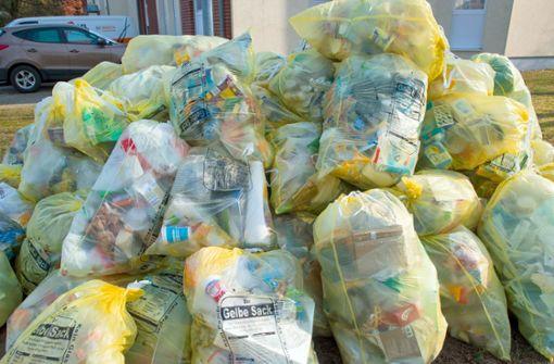 Abfallprofis schlagen wegen Plastikmüll Alarm