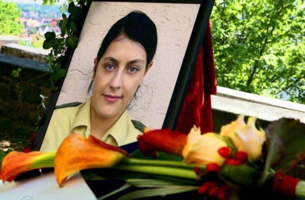 "Der Mord an der Polizistin Michele Kiesewetter im April 2007: welche Rolle spielte ""Krokus"", die V-Frau des baden-württemberg Foto: dpa"
