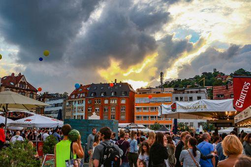 Peace and Loveim Stuttgarter Süden
