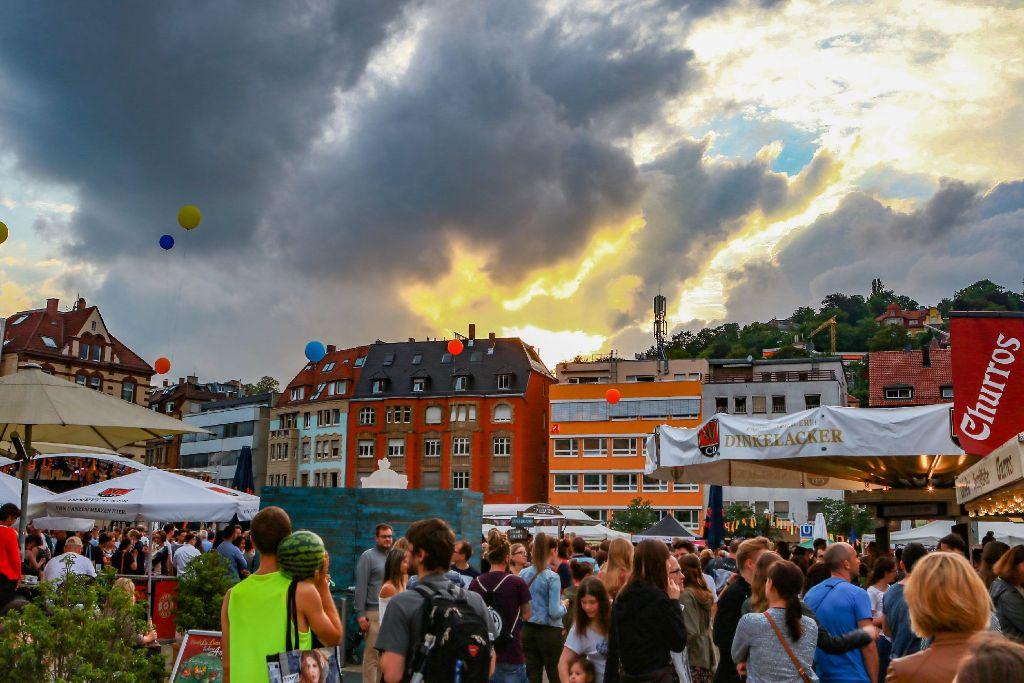 Auf die Bühne beim Marienplatzfest kommt nur handgemachte Musik. Foto: 7aktuell.de/Andreas Friedrichs