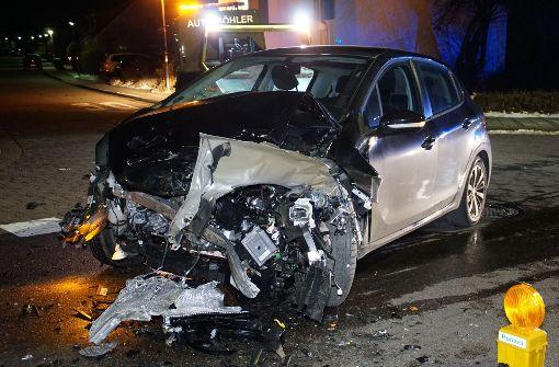Neun Verletzte bei Kreuzungs-Crash