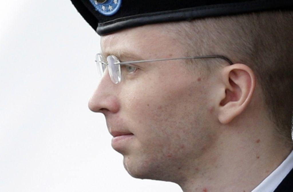 Bradley Manning muss  35 Jahre ins Gefängnis. Foto: AP