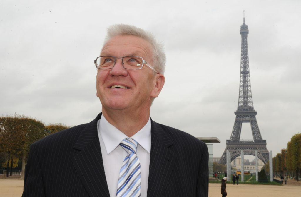 Winfried Kretschmann hat in Paris dis französische Umweltministerin Ségolène Royal getroffen und über die Stilllegung von Fessenheim gesprochen. Foto: dpa