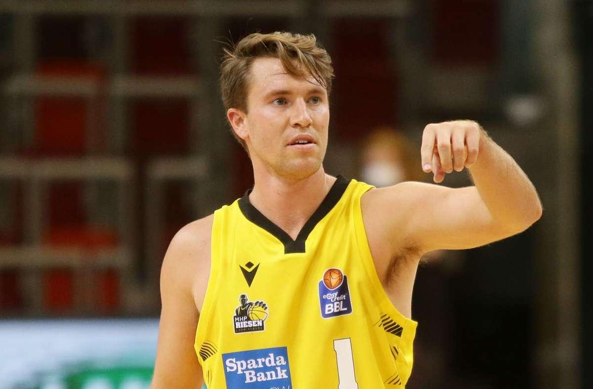 Auch 21 Punkte von Jordan Hulls helfen den Riesen nicht zum Sieg. Foto: Baumann
