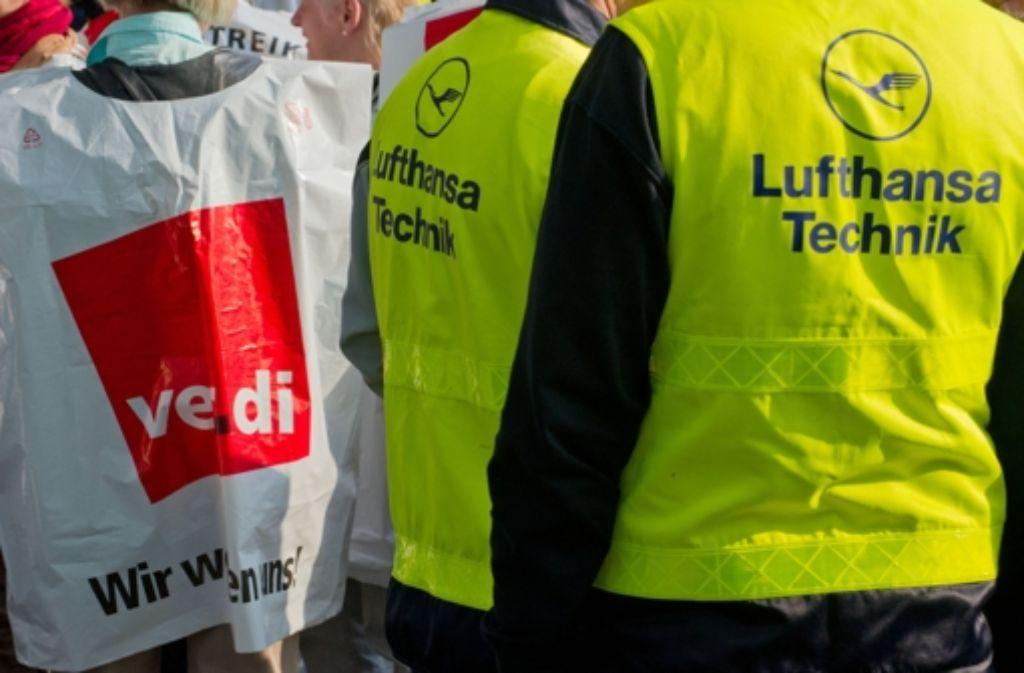 Verdi kann die Proteste einstellen, für das Bodenpersonal gelang ein Tarifabschluss. Foto: dpa