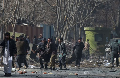 Fast 100 Tote bei Anschlag der Taliban in Kabul