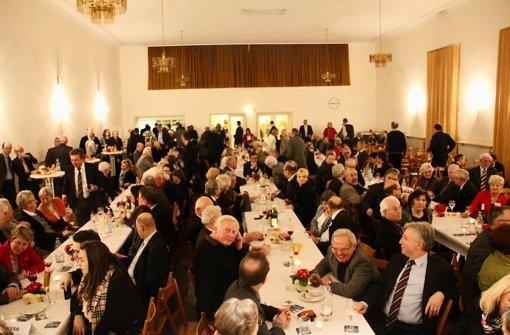 Rund 250 geladene Gäste sind am vergangenen Donnerstag von den Christdemokraten am Brahmsweg bewirtet worden. Foto: Torsten Ströbele