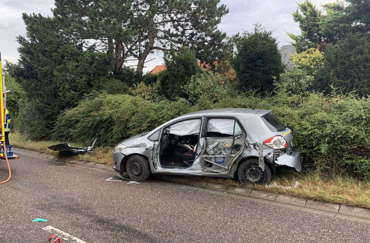 In den Unfall war neben dem Lkw auch ein Audi und ein Toyota verwickelt. Foto: SDMG