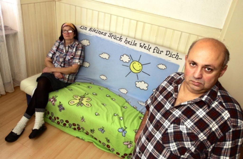 Elena Panina und Hayk Hakobyan geben nicht auf: Sie  kämpfen seit Jahren um ein Aufenthaltsrecht in Deutschland. Foto: factum/Weise