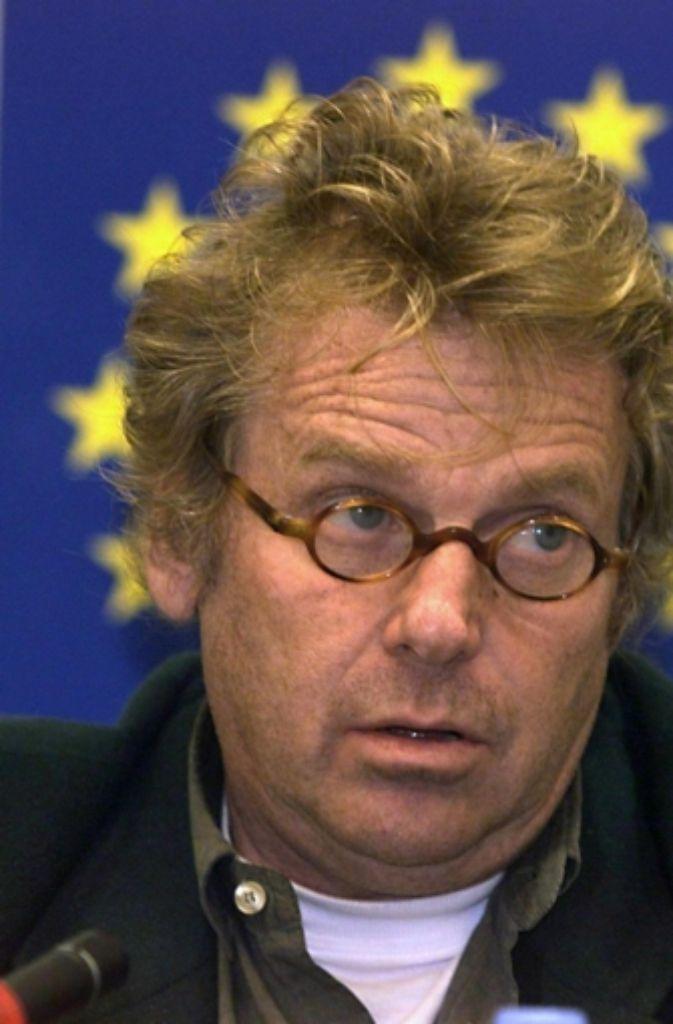 Bei der Europawahl 1994, von Bündnis 90/Die Grünen nur auf Listenplatz 8 nominiert, zog Cohn-Bendit  erstmals in das Europaparlament ein. Foto: dpa