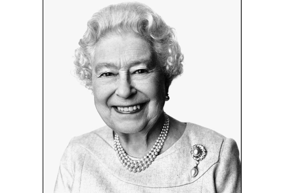 David Bailey entlockte Queen Elizabeth II. 2014 anlässlich ihres 88. Geburtstags ein seltenes, strahlendes Lächeln. Foto: David Bailey