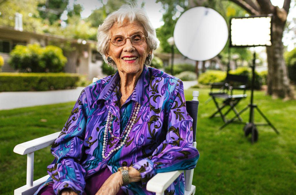 Auf der Suche nach neuen Filmrollen: Connie Sawyer, 104 Jahre alt Foto: Festival/Axel Schneppat