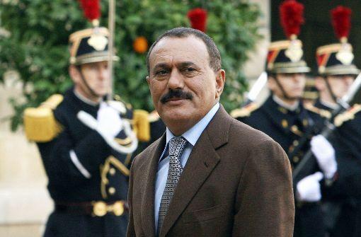Ex-Langzeitherrscher Saleh getötet