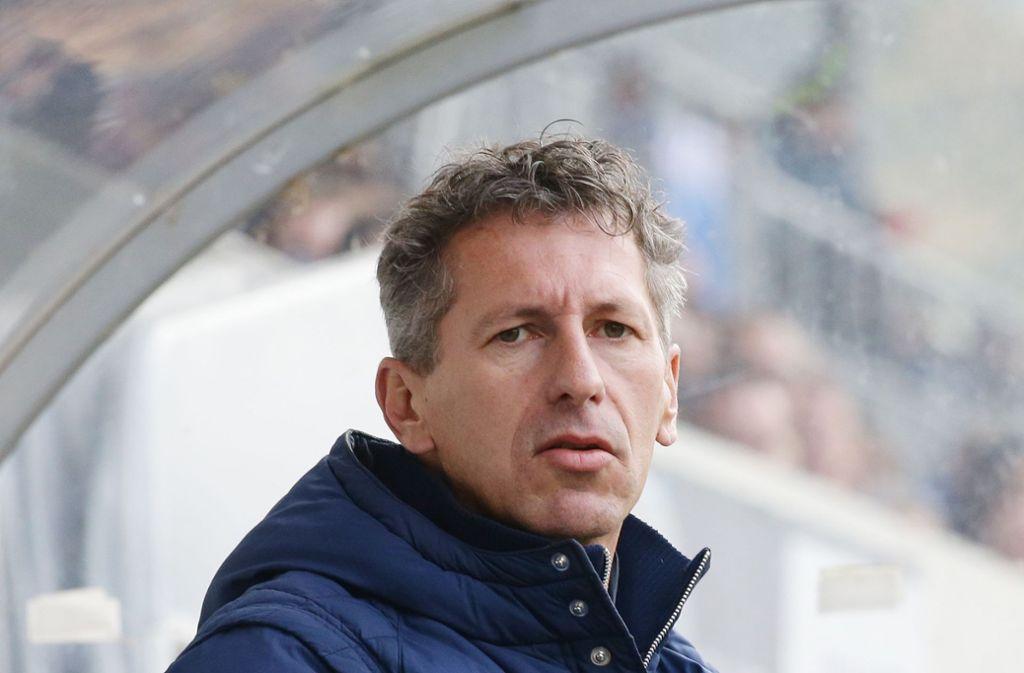 Sieht mit den Stuttgarter Kickers optimistisch in die Zukunft: Der Sportliche Leiter Martin Braun. Foto: Baumann