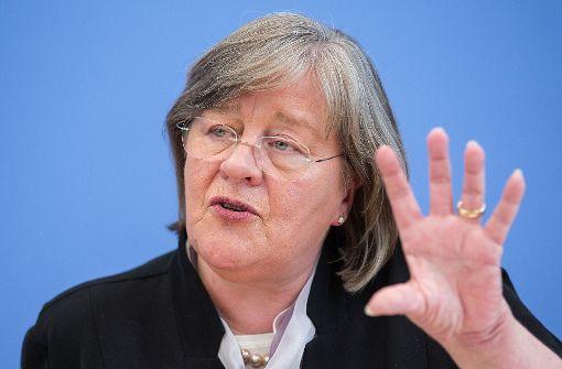 Oberste Datenschützerin in Deutschland: Andrea Voßhoff, CDU Foto: dpa