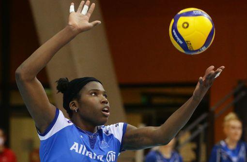Star-Volleyballerin Krystal Rivers bleibt in Stuttgart