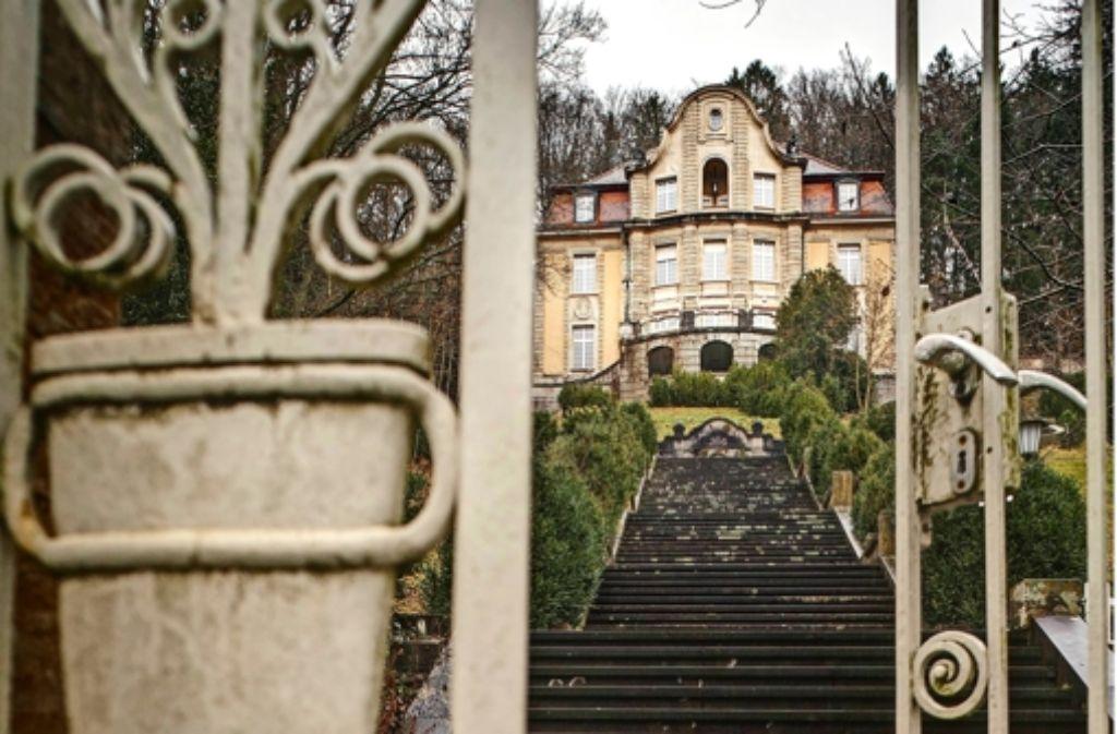Die Villa hat 300000 Goldmark gekostet, das wären heute 15 Millionen Euro. Foto: Stoppel