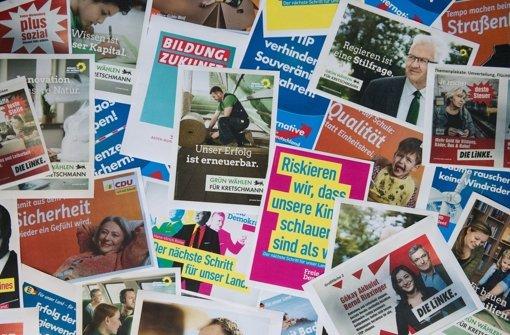 Der politische Aschermittwoch steht in diesem Jahr ganz im Zeichen des Wahlkampfes. Foto: dpa