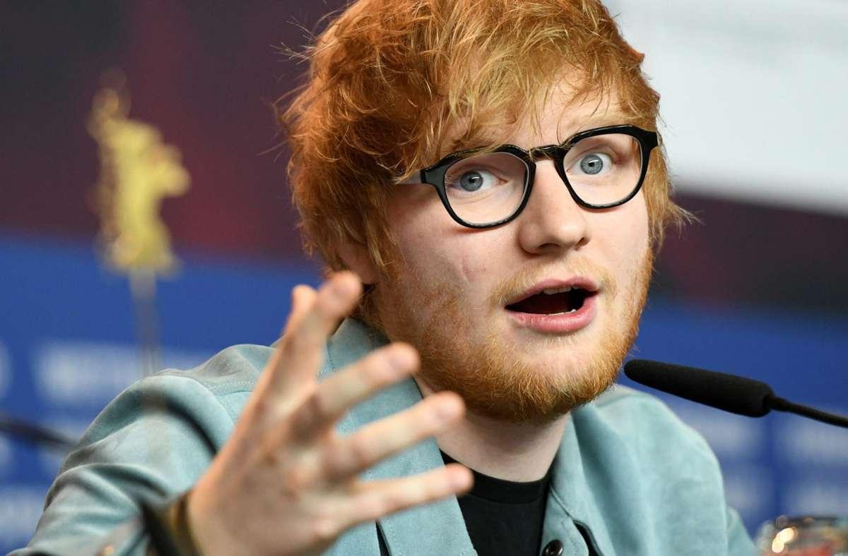 Ed Sheeran und seine Ehefrau Cherry sind erstmals Eltern geworden. Foto: dpa/Maurizio Gambarini