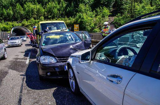 Falschfahrer verursacht Unfall – vier Verletzte
