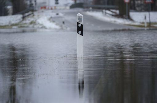 Hochwasser in Baden-Württemberg erwartet