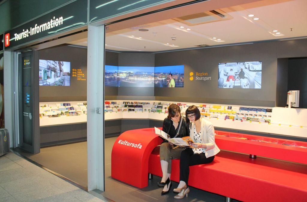 Stuttgart Marketing ist eine Tochterfirma derStadt und nutzt wie dieStadtwerke und die in.Stuttgart die ITder Messe. Foto: Lichtgut/Max Kovalenko