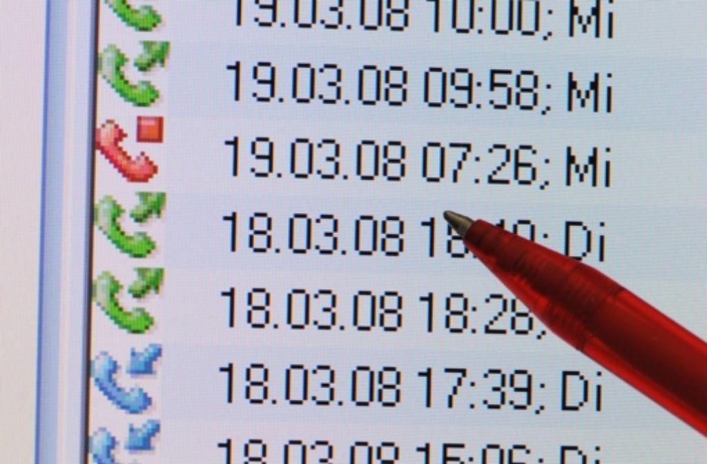 Bei der Vorratsdatenspeicherung werden Telefon-Verbindungsdaten archiviert. Foto: dpa