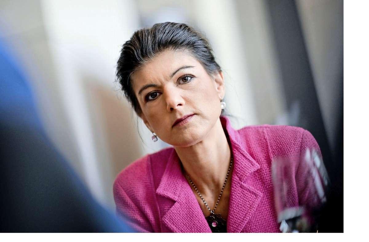 Häufiger Gast von Talkrunden: die Linken-Politikerin Sahra Wagenknecht Foto: dpa/Britta Pedersen