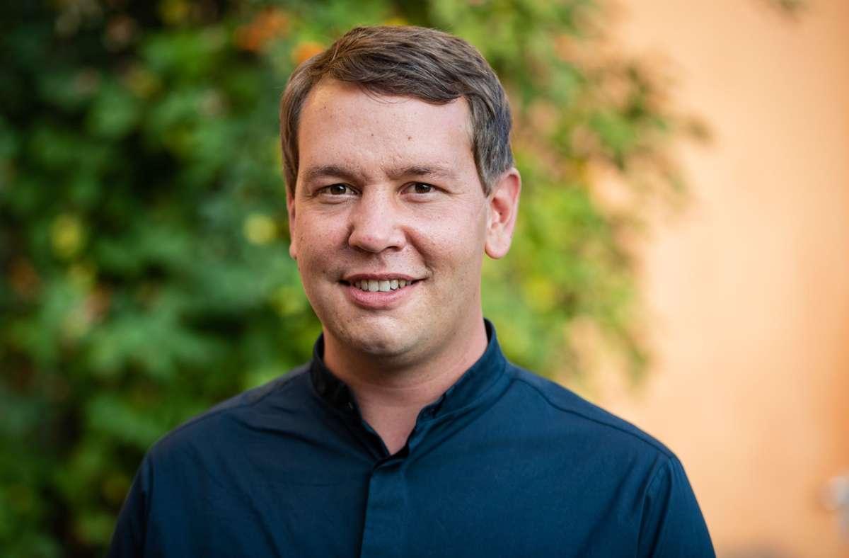 Grünen-Landeschef Oliver Hildenbrand geht auf Abstand zum Koalitionspartner CDU in Baden-Württemberg. (Archivbild) Foto: Lichtgut/Christoph Schmidt