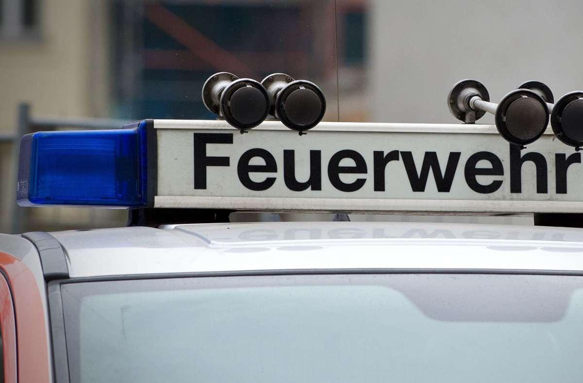 Die Feuerwehr konnte den Brand schnell löschen (Symbolbild). Foto: dpa/Jan-Philipp Strobel