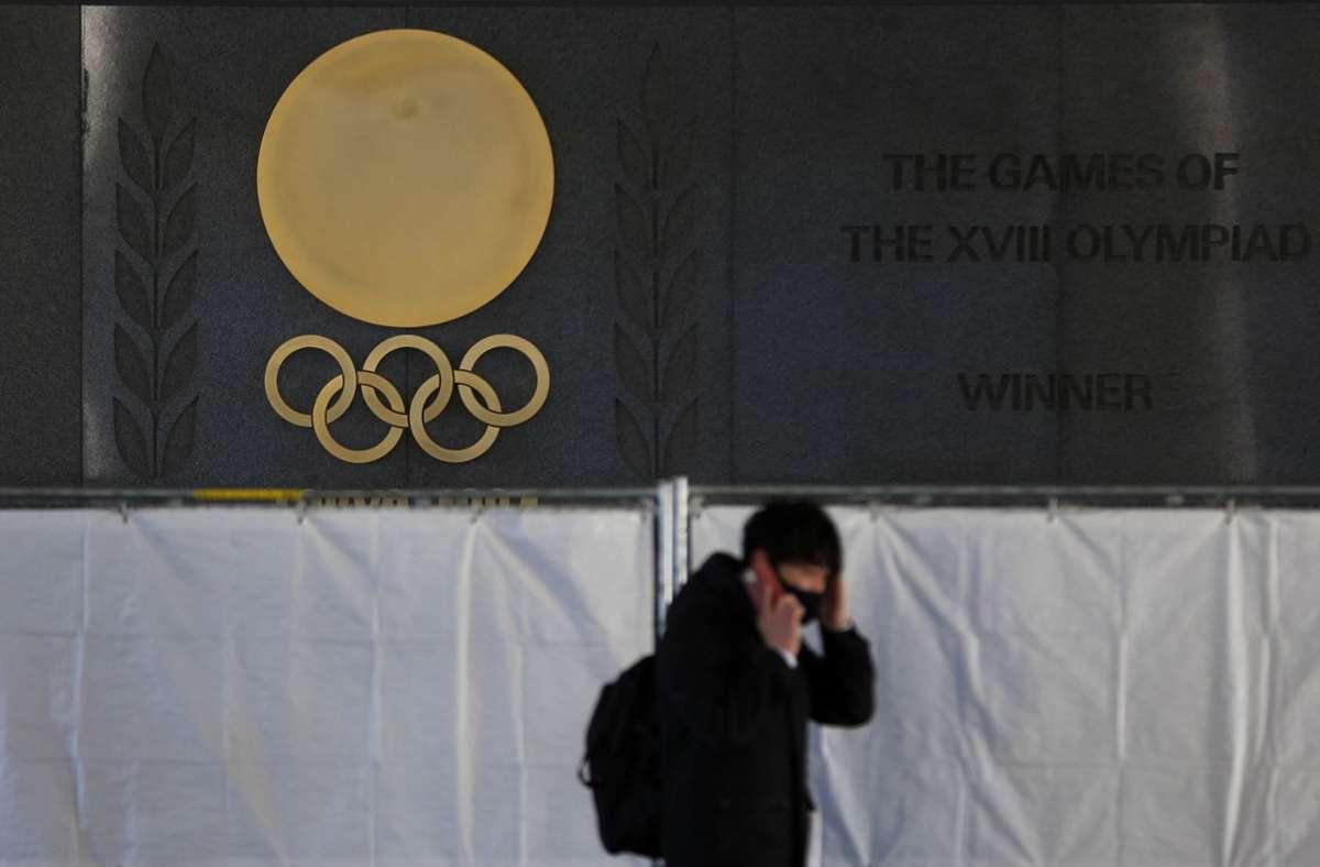Finden die Olympischen Spiele im Sommer ohne ausländische Zuschauer statt? Foto: dpa/Kiichiro Sato