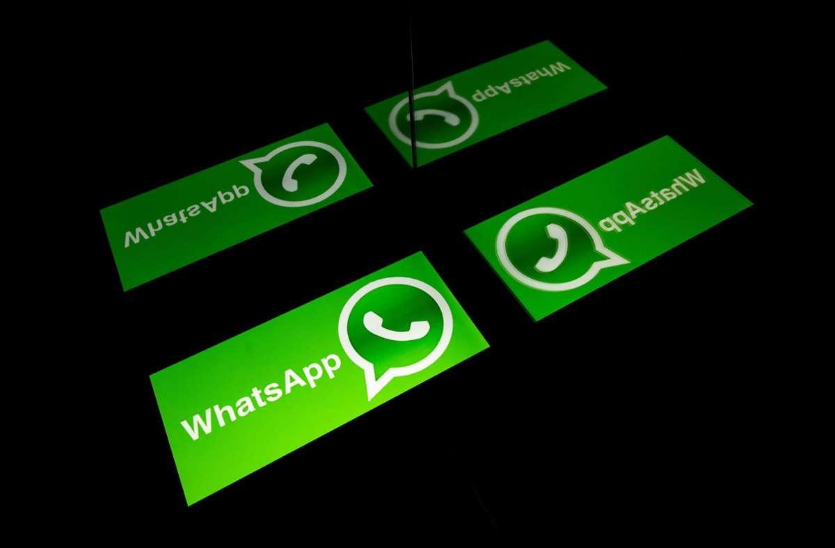 WhatsApp bemüht sich um Schadensbegrenzung. Foto: AFP/LIONEL BONAVENTURE