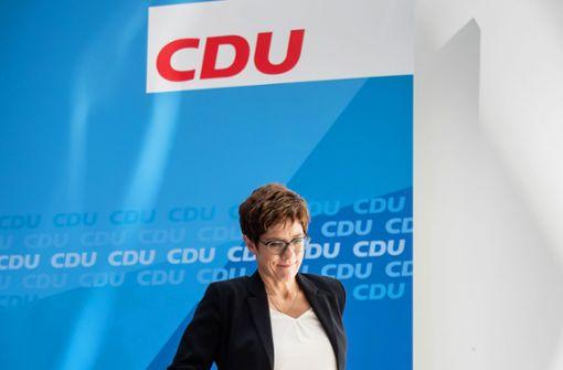 Annegret Kramp-Karrenbauer scheiterte am Zustand der CDU