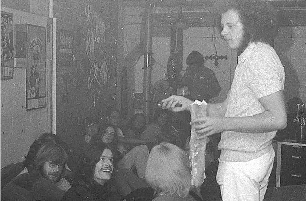 In den Siebzigern war der Diakonissenbunker in Stuttgart-West Treffpunkt von Musikern und Partygästen. Jetzt deutet sich an, dass er als Treffpunkt wiederbelebt wird. Am 17. März kann man ihn eine Nacht lang besichtigen. Foto: Xander Schmid