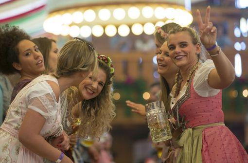 Die schönsten Bilder von der Volksfest-Sause