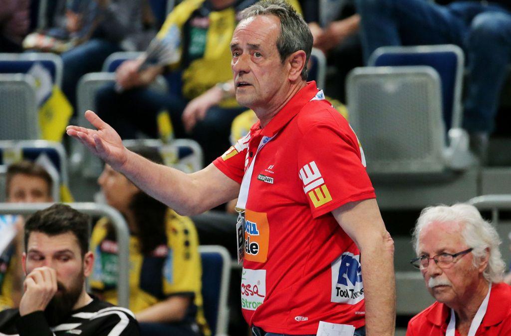 Mischt wieder in der Handball-Bundesliga mit: Rolf Brack. Foto: Baumann