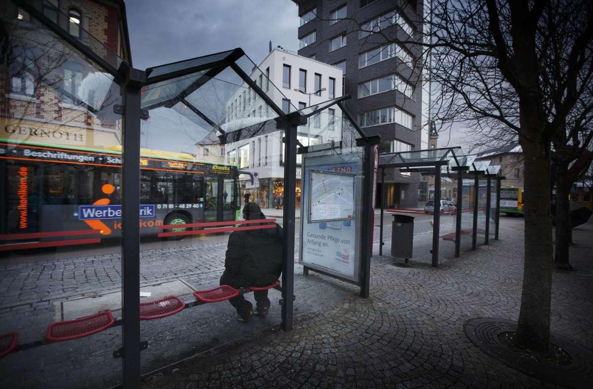 Nicht nur der Untere Marktplatz, sondern auch ein Busbahnhof am Karlsplatz wäre Bestandteil des von der CDU beantragten Bürgerentscheides. Foto: /Gottfried Stoppel