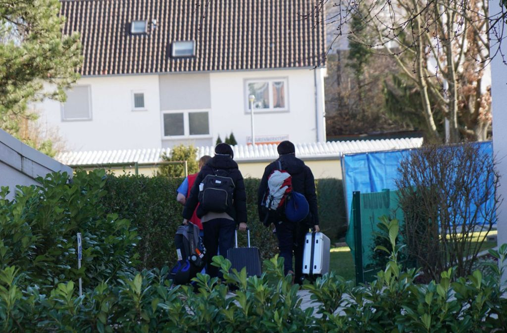 Am Freitag sind die China-Rückkehrer ins Kirchheimer Ateck-Hotel eingezogen. Foto: SDMG/Kohls