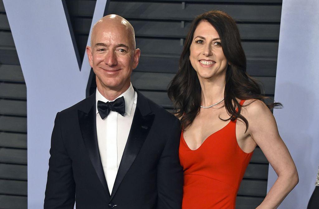 Die Ex-Frau von Amazon-Gründer Jeff Bezos will Teile ihres Vermögens spenden. Foto: AP