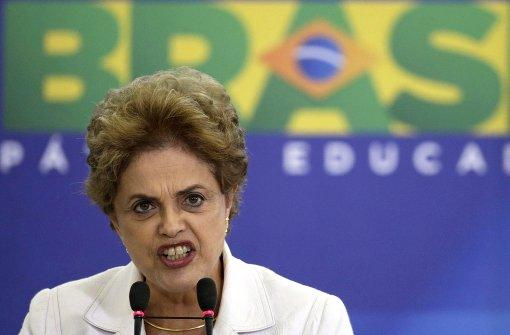 Präsidentin Rousseff des Amtes enthoben
