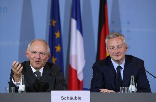 Berlin und Paris zuversichtlich zu Griechenland-Hilfen