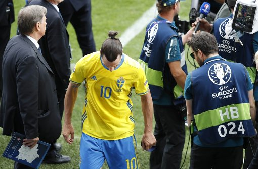Zlatan Ibrahimovic hört nach EM auf