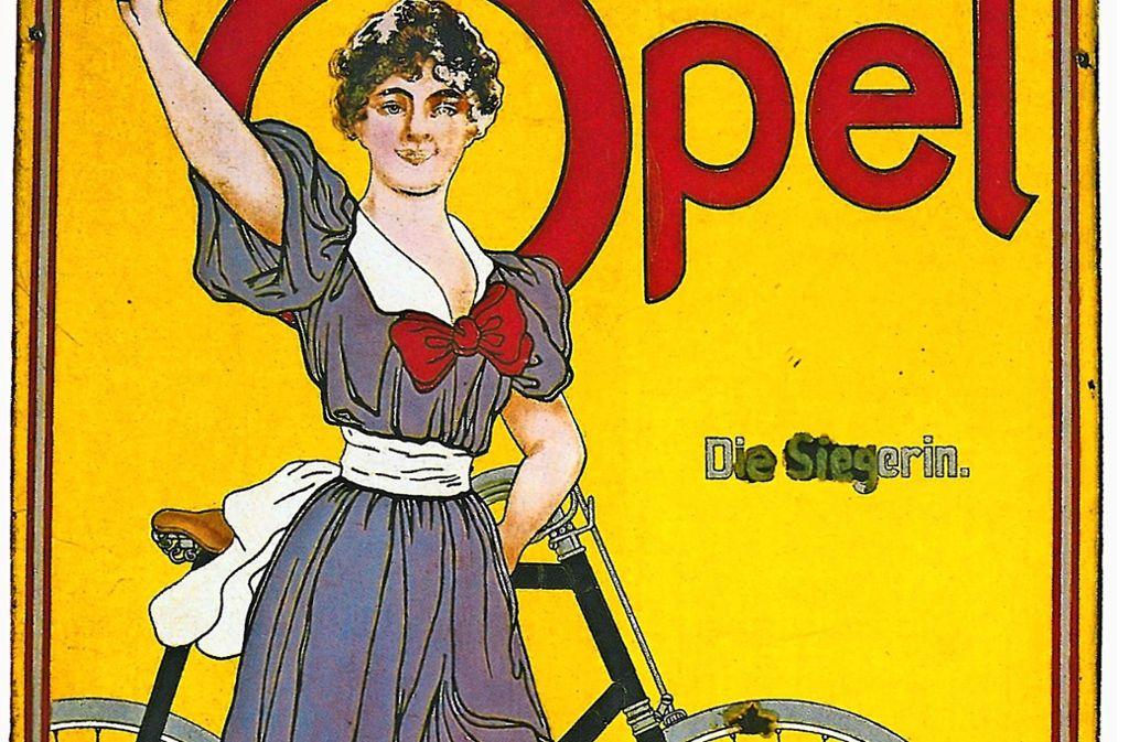 Die Firma Opel stellte von 1886 bis 1940 auch Fahrräder her.Foto:Städtisches Museum Foto: