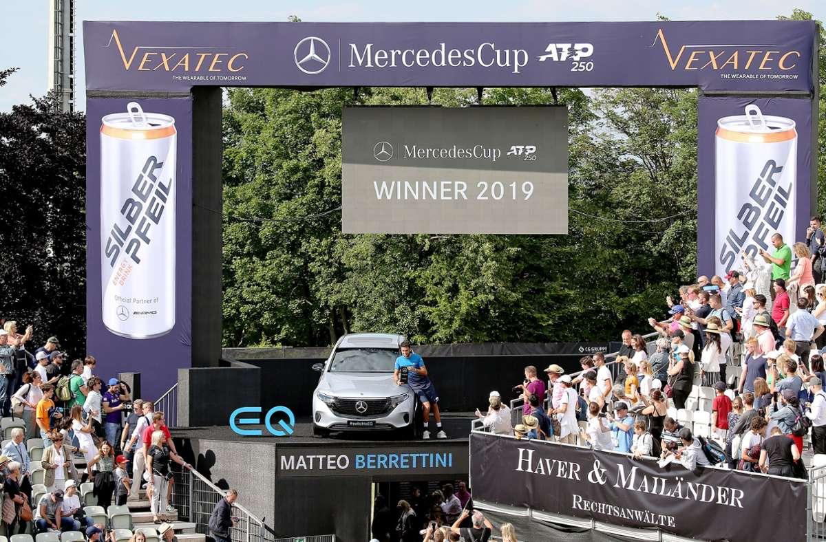 Dem Stuttgarter Rasen-Turnier droht eine Auflage ohne Topstars. Foto: Pressefoto Baumann/Alexander Keppler