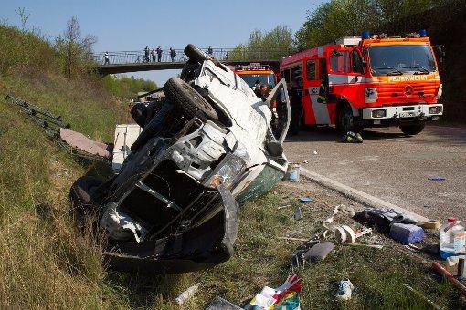 Unfall fordert zwei Schwerverletzte