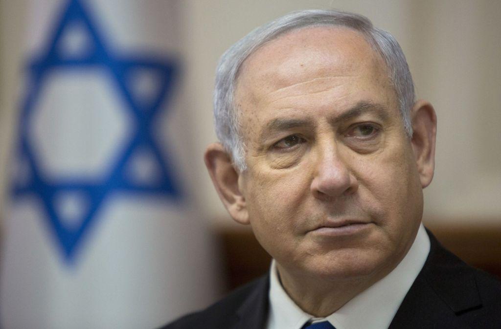 """Israel hat nach Angaben von Ministerpräsident Benjamin Netanjahu """"schlüssige Beweise"""" dafür, dass der Iran ein geheimes Atomwaffenprogramm verfolgt. Foto: AP"""