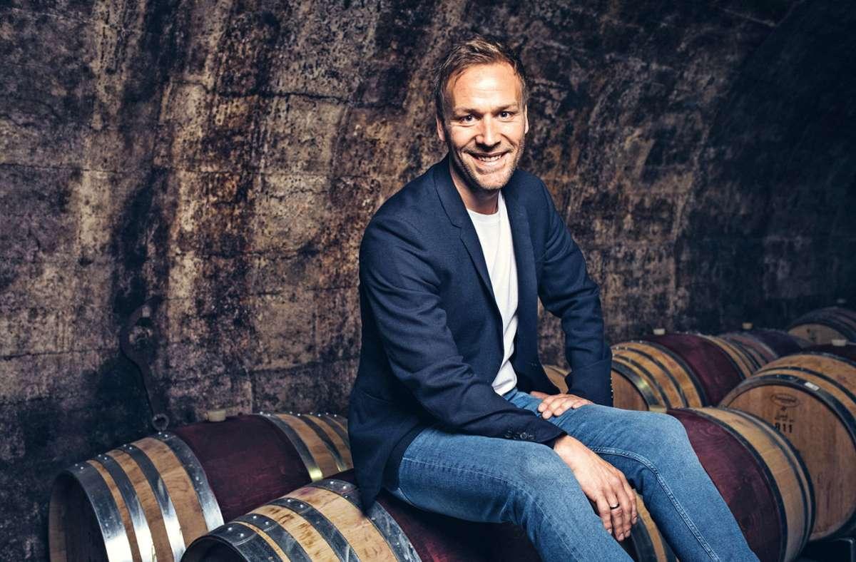 Stefan Hübner, einst für die Fußballer des SV Fellbach und der  Spvgg Rommelshausen am Ball, arbeitet heute  in der Weinbranche. Foto: www.medienagenten.de