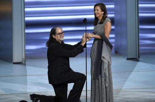 Preisträger Glenn Weiss begeistert mit Heiratsantrag