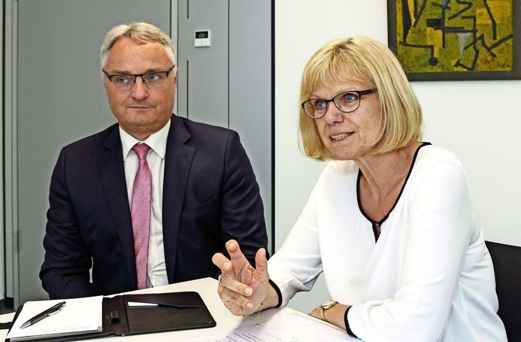Qualität ist das Werkzeug: Peter Höfer, Christina Gebhardt. Foto: factum/Bach